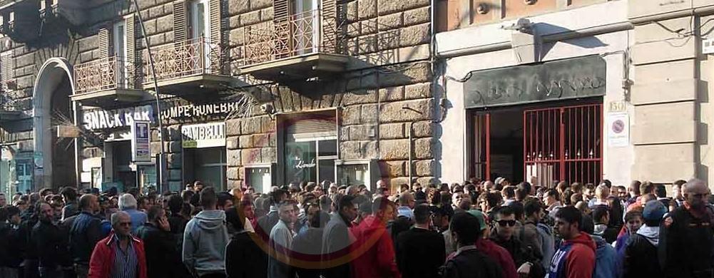 Roma Bayern Monaco Corsa Al Biglietto File All 39 Esterno