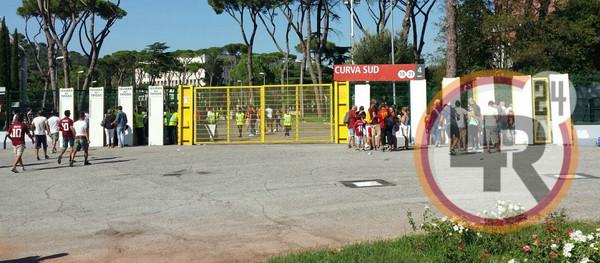 Roma Juventus Situazione Tranquilla All 39 Esterno Dello