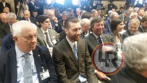 Report calcio de sanctis assiste alla presentazione del for Camera dei deputati web tv