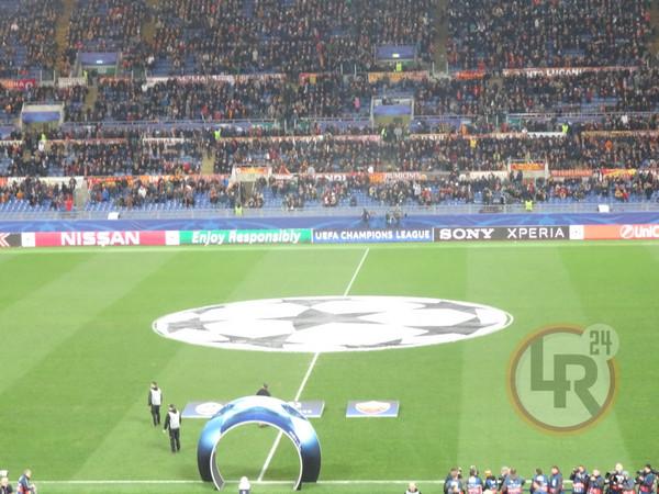 incontro di calcio roma barcellona