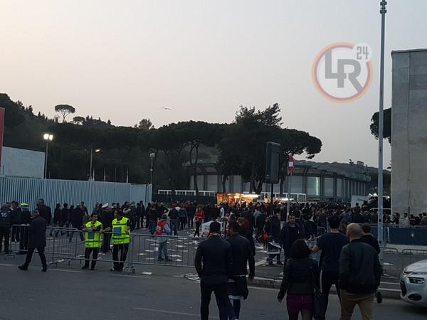 Per Roma Liverpool 5 Zone A Rischio Scontri Piazze E