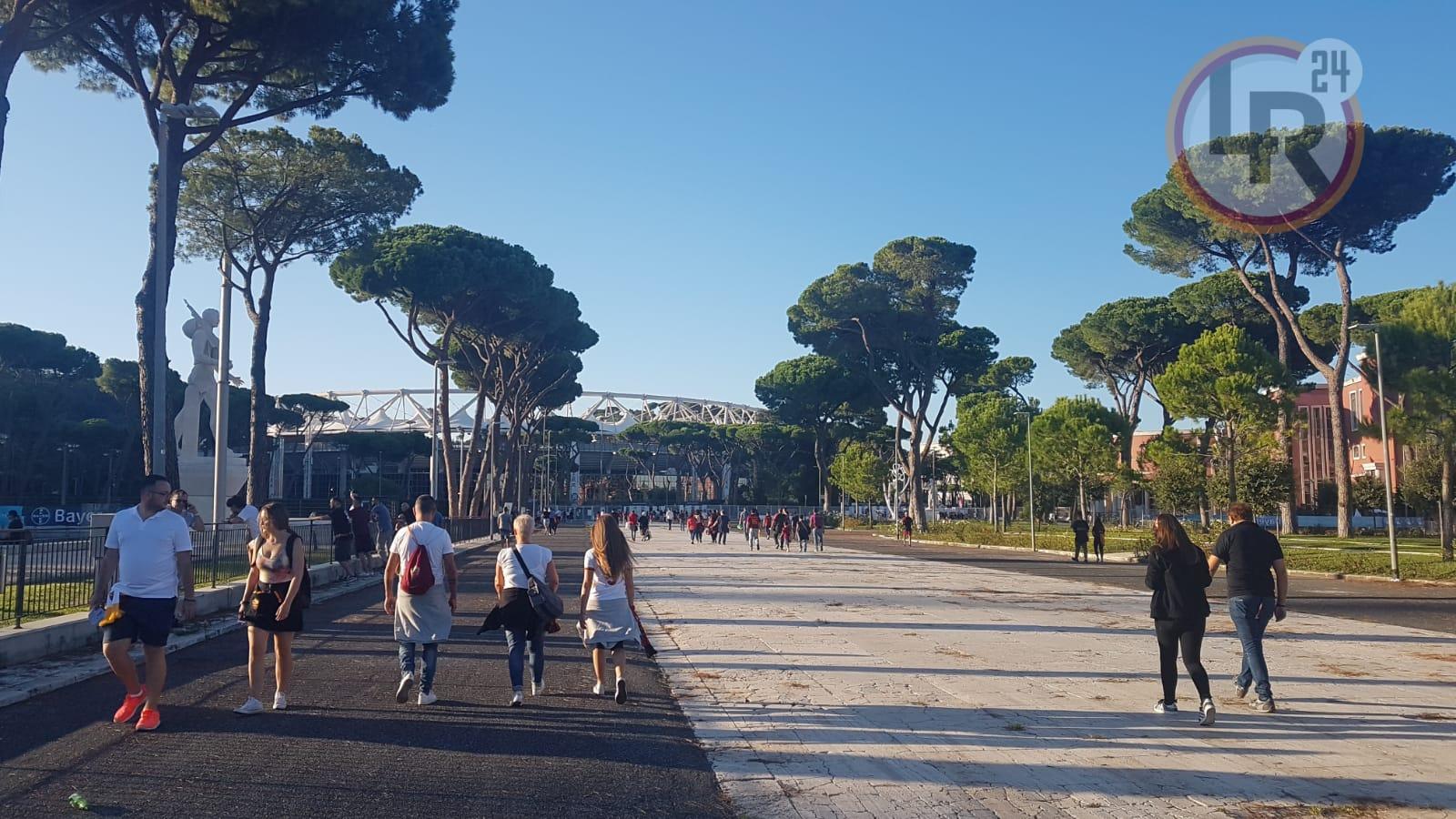 Roma Atalanta Le Probabili Formazioni Pastore Esterno