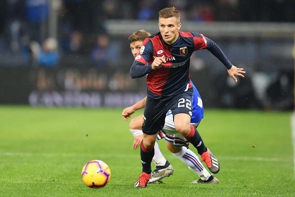 Genoa Lazovic Contro La Roma Sar Una Finale Anche Per