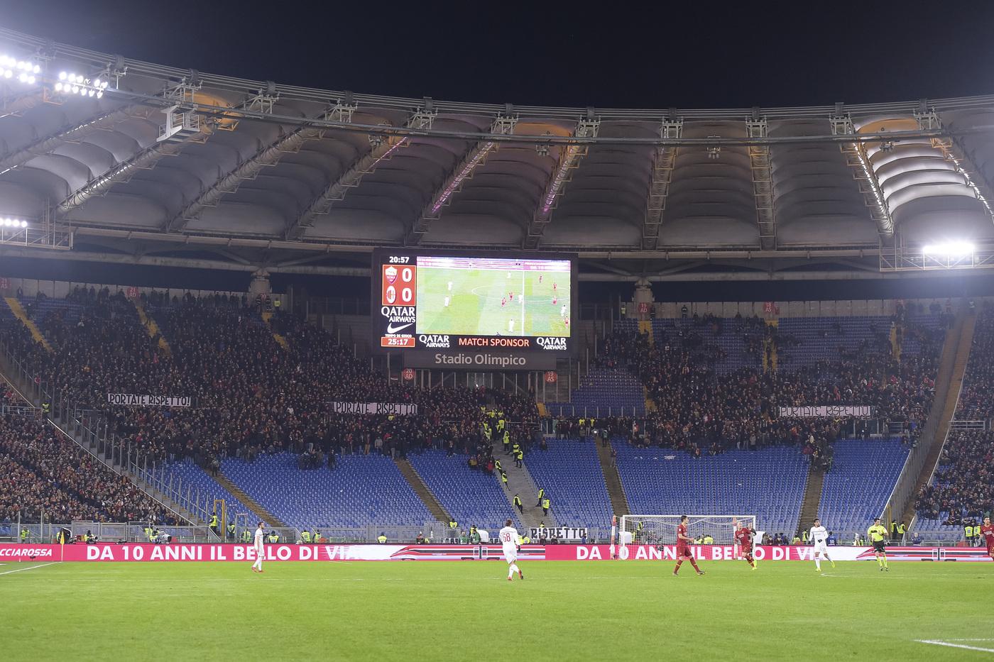 Stadio Olimpico, lo studio della Moovit: il 92% dei tifosi della Roma ...